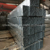 20x20mm tubo de acero galvanizado para la fabricación de muebles