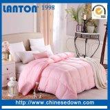 Consolateur 100% de coton d'hôtel de fournisseur de la Chine vers le bas/édredon de Microfiber/couette blancs de polyester