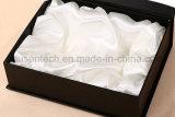 銀製の押すロゴの印刷のきれいなペーパーボール紙のギフト用の箱