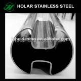 Tubo di figura dell'acciaio inossidabile 304