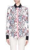 女性のための100%の絹のワイシャツをカスタム設計しなさい