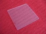 De vierkante Duidelijke Plaat van het Glas van het Kwarts van het Kristal