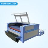 Kundenspezifische große Schuppen-Laser-Ausschnitt-Maschine mit Selbstzufuhr 80With 100With 120With 150W