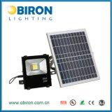 luz de inundación solar de 30W IP65 LED