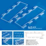 Obturador de policarbonato transparente de rodillo Rodillo de plástico obturador