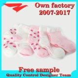 Neuester FormPatten für Baby-Gefäß-Baumwollsocke mit Qualität
