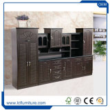 Новые дешевые цельной древесины MDF кухонные шкафы гостиной деревянные шкафы