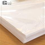PET blanco 0,25 mm revestimiento de papel con el doble de caras