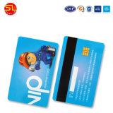 자기 띠를 가진 RFID 은행 크레디트 카드