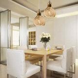 بصيلة حديث يشكّل شفّافة مدلّاة ضوء زجاجيّة لأنّ مطبخ