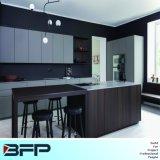 Nuova mobilia di legno BMK-63 della cucina laminata dell'armadio da cucina di disegno quercia