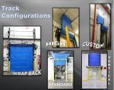 Industrielle elektrische Belüftung-schnelle Rollen-Blendenverschluss-Tür für Kaltlagerung