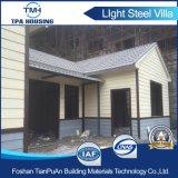 Larga vida útil de la Junta de cemento de la estructura de acero de la luz de la Villa