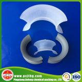 Intalox plástico ensilla el anillo como rellenos químicos