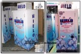 Merchandiser de compartimento de armazenamento de bagagem de gelo