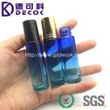 bottiglia di vetro del rullo di tono dell'azzurro di oceano 10ml per profumo