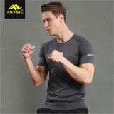 人のためのスポーツの摩耗のトレーニングのワイシャツの圧縮のTシャツ