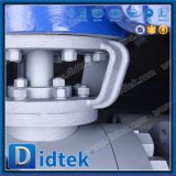 Тип 900 Rtj ANSI Didtek служил фланцем концы A105 + шарик Ni 60 и шариковый клапан места