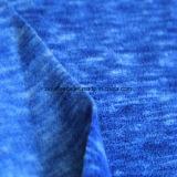 Panno morbido di effetto di stampa del catione micro, tessuto del rivestimento (blu marino)