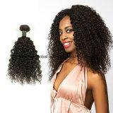 Het Braziliaanse Kroezige Weefsel van het Menselijke Haar van de Krul Maagdelijke