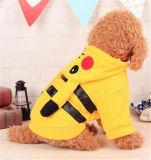 Cappotto di Pikachu per i cani ed i gatti