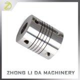 Муфта вала отрицательной реакции связи через пучки нул Stepper мотора CNC муфты гибкия вала винта алюминиевая для мотора шифратора Servo