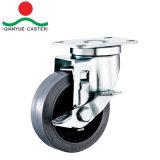 TPR токопроводящие средней мощности, жесткой самоустанавливающегося колеса