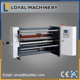 Compuesto de plástico de alta velocidad de papel de la máquina de corte longitudinal con eje deslizante