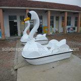2/4隻の人の公園によって使用されるペダルのボートのための白鳥のペダルのボート