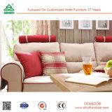 Annehmen kundenspezifisch anfertigen Gewebe-Ecksofa-Bett-modernes Wohnzimmer-Sofa