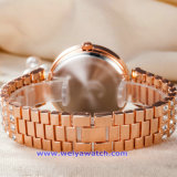 Logotipo personalizado reloj de cuarzo suizo de relojes de pulsera de moda para parejas (WY-17004F)