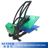 L'E-Aimant neuf de tiroir Automatique-Ouvrent la presse élevée manuelle de la chaleur de Pressuret-Chemise