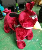 Kiddiefahrgehendes Tierfahrauto mit Plastikspielzeugzaun