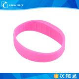 Wristband passivo del silicone 13.56MHz di RFID