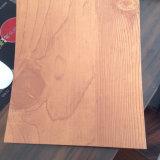 Pré-peint du grain du bois en acier revêtu de couleur