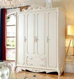 Mobília de madeira do quarto do projeto antigo europeu (HC9013)