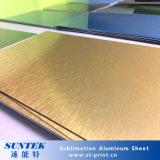 Sublilmationは印刷のブランクアルミニウムシートに塗った