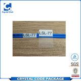 Escritura de la etiqueta impermeable auta-adhesivo de encargo de la etiqueta engomada del cable de la seguridad
