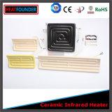 Elemento riscaldante di ceramica elettrico di Infrared lontano (figura dell'arco)