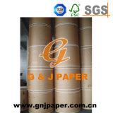 Arte de papel marrón claro en venta al por mayor del rodillo o de la hoja