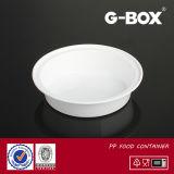 Microwavable pp. Plastiknahrungsmittelbehälter mit Kappe (DC-723)
