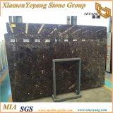 Lastra di marmo scura della Cina Emperador, marmo del Brown per le mattonelle/pavimentazione
