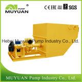 Pompe centrifuge de boue de mine d'or de courant de fond lourd d'épaississant