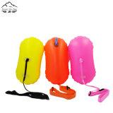 Bóia inflável de pouco peso da nadada que flutua o saco seco impermeável para a natação