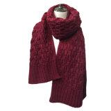 Slouch кабеля Mens женщин шарф зимы тяжелого Unisex связанный длинний толщиной (SK148)