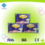 Servilletas sanitarias del uso diario ultra fino de la hembra para las mujeres