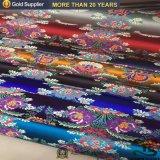 Ткань парчи полиэфира ткани жаккарда Китая для ткани или одеяла таблицы