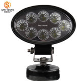 24W LED Arbeits-Licht wasserdichtes 12V 24V weg vom Straßen-Jeep-LKW, Auto-Arbeits-Licht des Auto-4X4wd