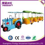 電気柵のトレインのおもちゃの娯楽子供の乗車の硬貨によって作動させる子供の乗車