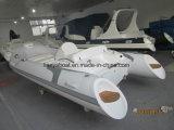 Liya 4,3m costilla chino barco barcos de licitación de fibra de vidrio
